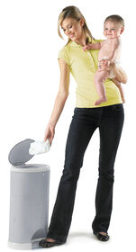 Diaper Dekor Kolor Plus Diaper Pail – Grey