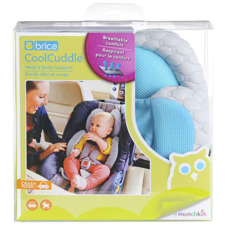 Brica Cool Cuddle Head & Body Support