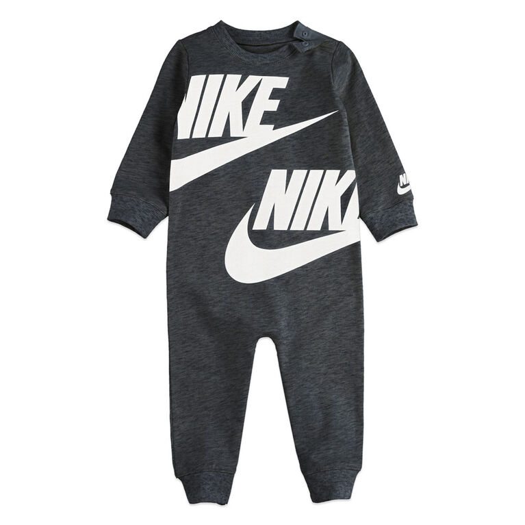 Nike Coverall - Black, 3 Months