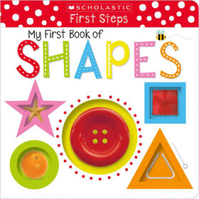 Early Learners My First Book Of Shapes - Édition anglaise
