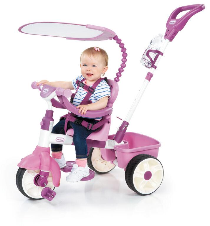 Little Tikes - Tricycle 4 en 1 modèle de base - rose