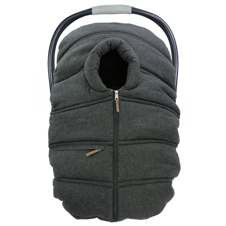 Petit Coulou-Winter Cover-Dark Grey Wool