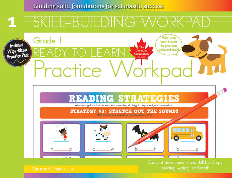 Grade 1 Skill Building Workpad - Édition anglaise