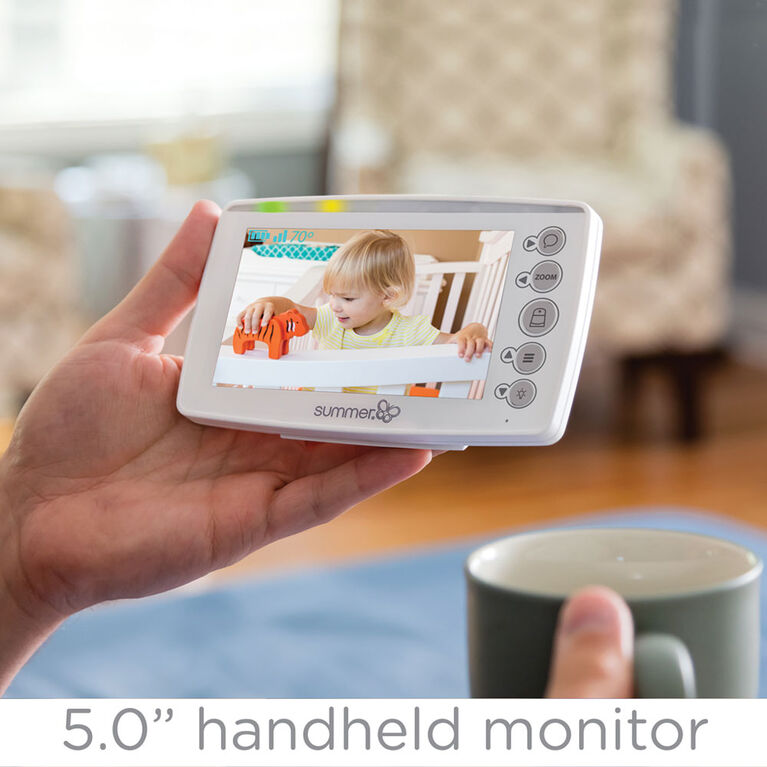 Summer Infant Panorama 5 Remote Panoramic View Video Monitor