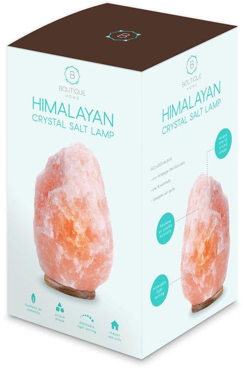 Lampe en cristal de sel himalayen de Boutique Home.