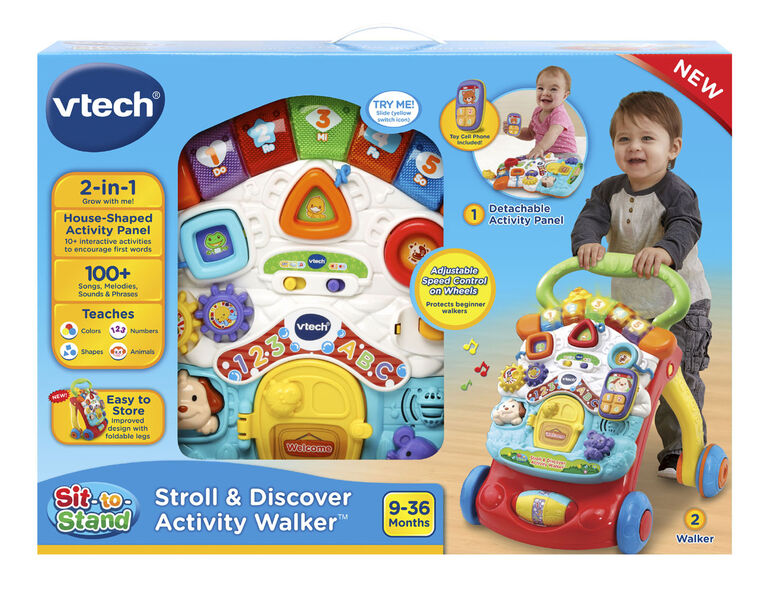 Vtech 174 Stroll Amp Discover Activity Walker English