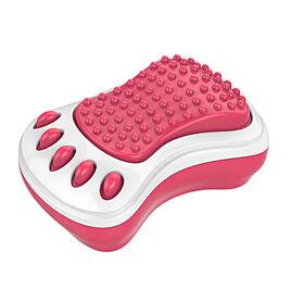 Appareil de massage pour pieds de voyage de Sharper Image - rose.
