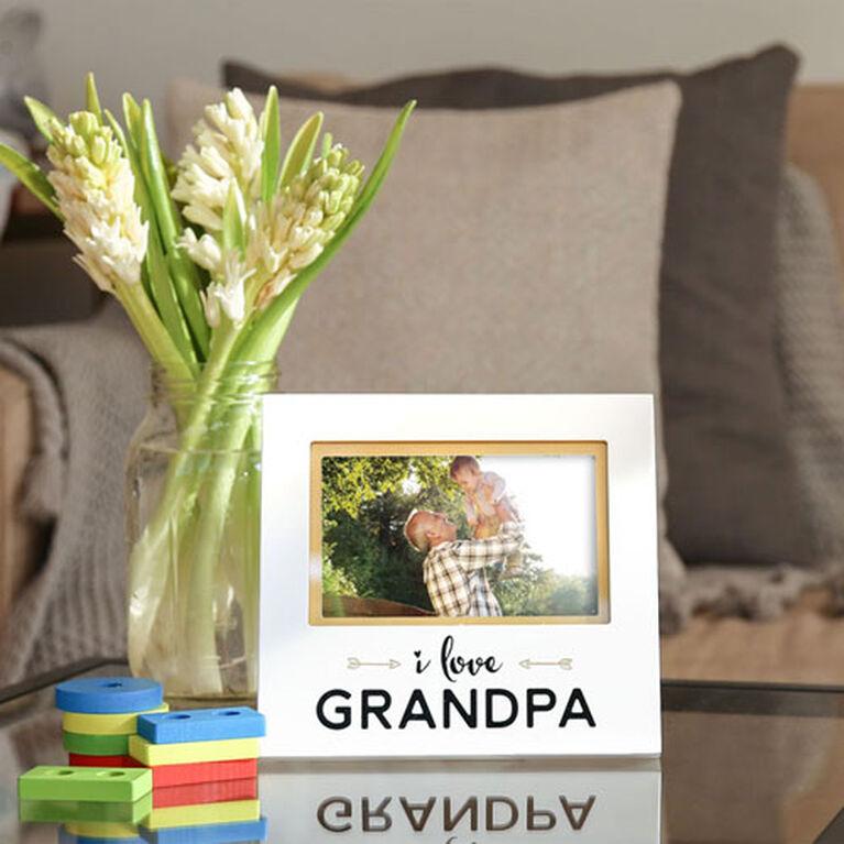 Cadre sentimental I Love Grandpa de Pearhead. - Édition anglaise