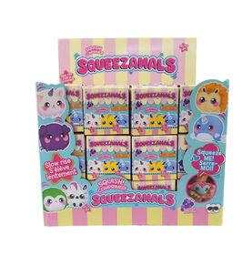 Squeezamals 2,5 pouces -  Emballage surprise - Séries Animaux de compagnie