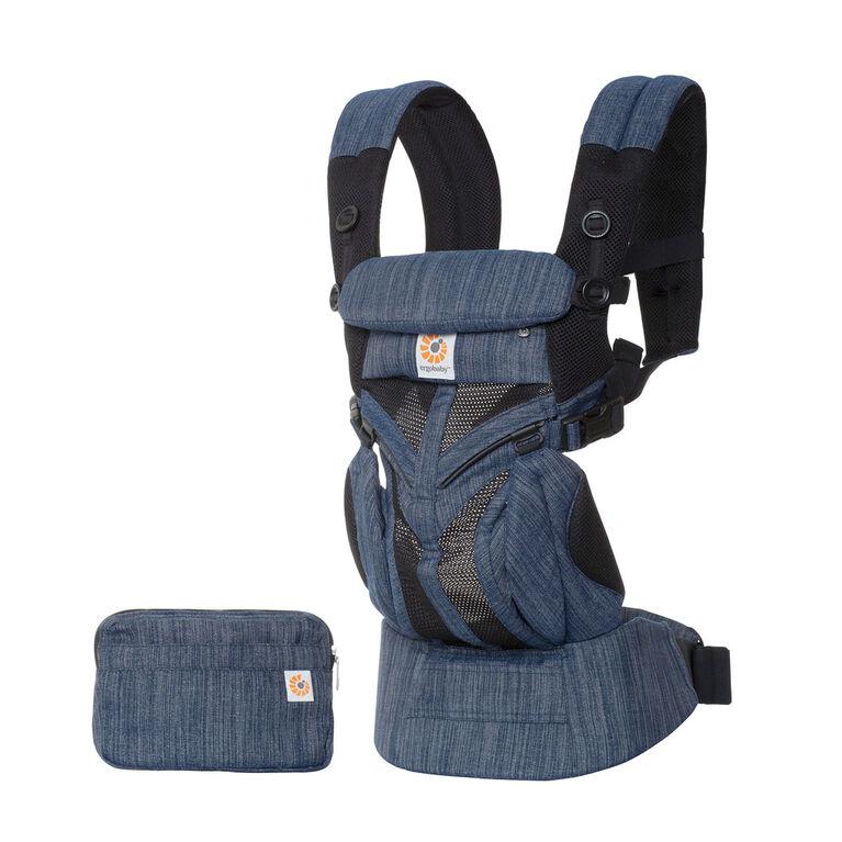 Ergobaby Omni 360 Cool Air Mesh All-in-One Ergonomic Baby Carrier - Indigo