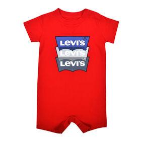 Levis Barboteuse - Rouge, 0-3 mois nouveau née
