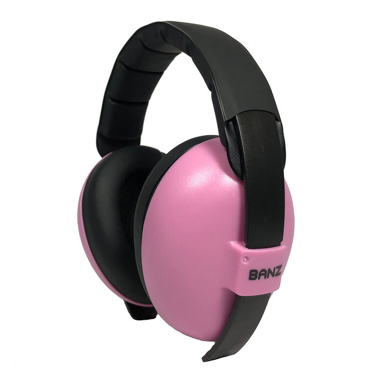 Banz - Baby Mini Earmuffs - Pink - 0-2 yrs