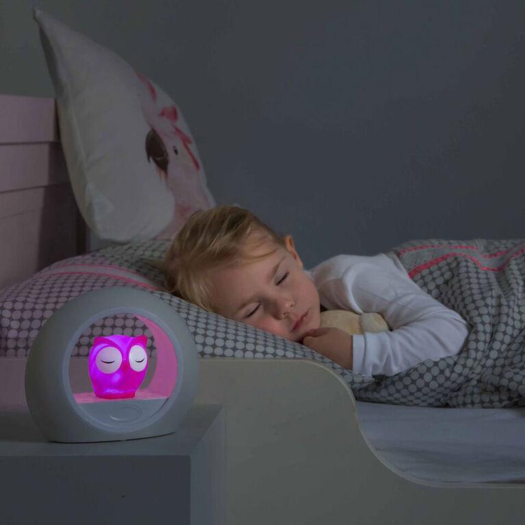 Zazu Lou Sound Activated Nightlight - Pink