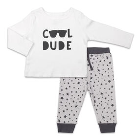 Koala Baby Let's Play Long Sleeve Shirt and Pants Set, Cool Dude - 24 Months
