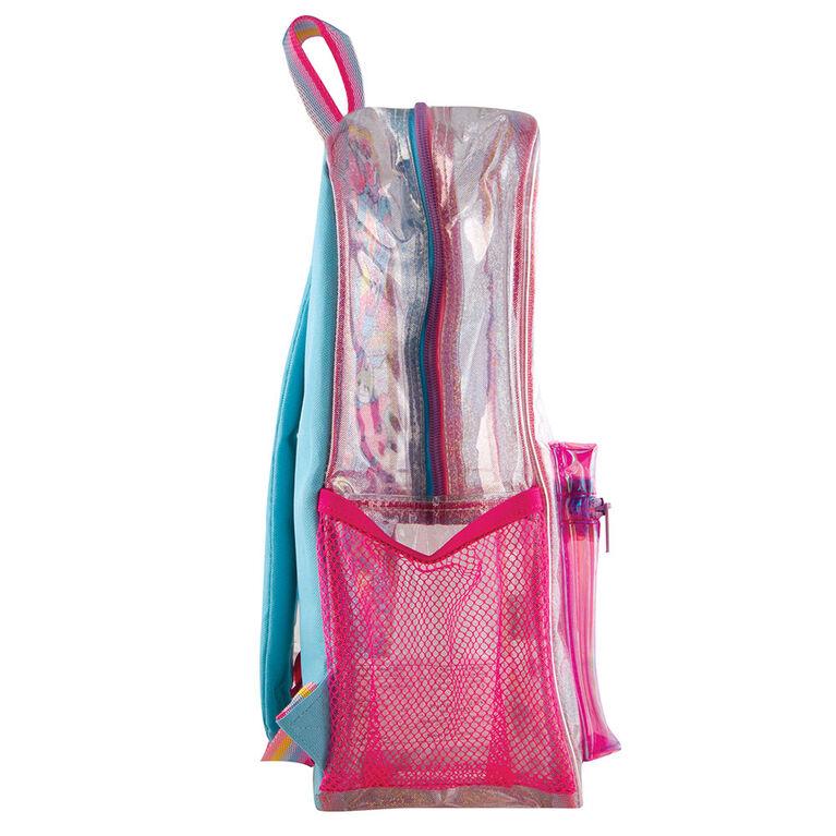 Fashion Angels Sparkle - Sac à dos pour personnage transparent