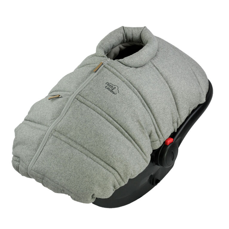 Petit Coulou-Winter Cover-Lght Grey Wool