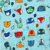 Earth by Art & Eden - Ensemble de 3 cache-couches Dakota  - Bleu, 3 mois