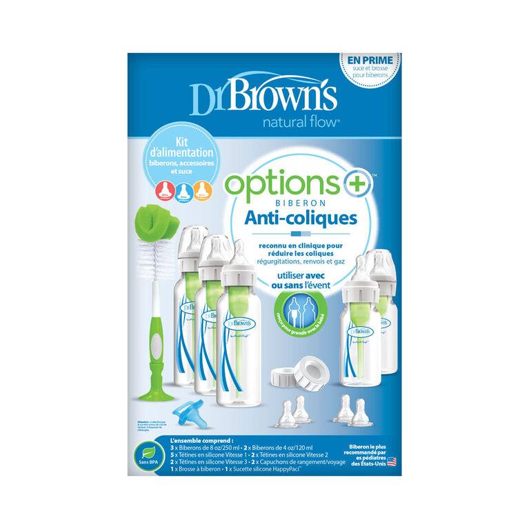 Coffret Cadeau Biberons Dr. Brown's Options+