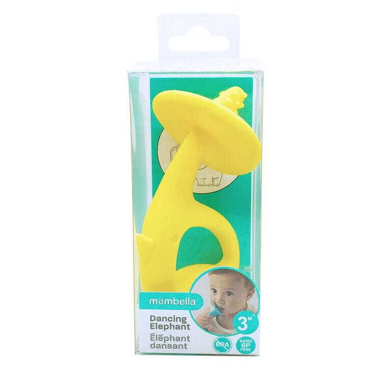 Mombella Dancing Elephant - Yellow