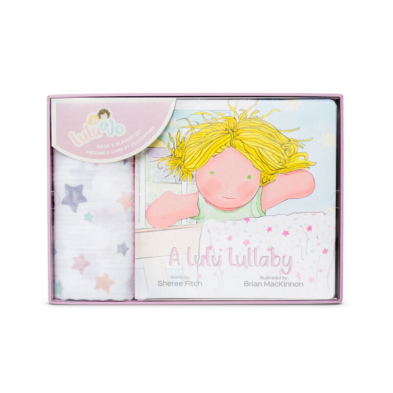 Lulujo - Lulu & Jo - Lulu - Coffret cadeau - Livre et couverture