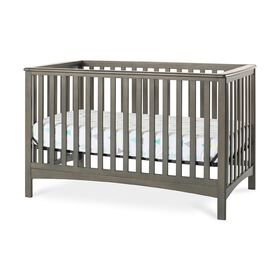 Forever Eclectic by Child Craft London 4-in-1 Convertible Crib, Dapper Gray