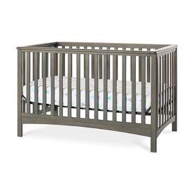 Lit de bébé transformable 4-en-1 LondonMC de Forever Eclectic par Child Craft, gris pimpant.