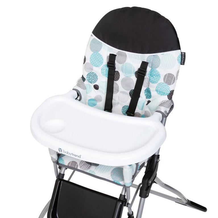 Chaise Haute Fast Fold - Circle Pop - Notre Exclusivité