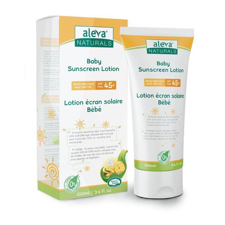 Aleva Naturals Sunscreen Lotion