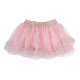 Rococo Tutu Skirt - Pink, 12-18 Months
