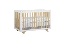 Oxford Baby Visby 3 in 1 Convertible Crib White/Natural - R Exclusive