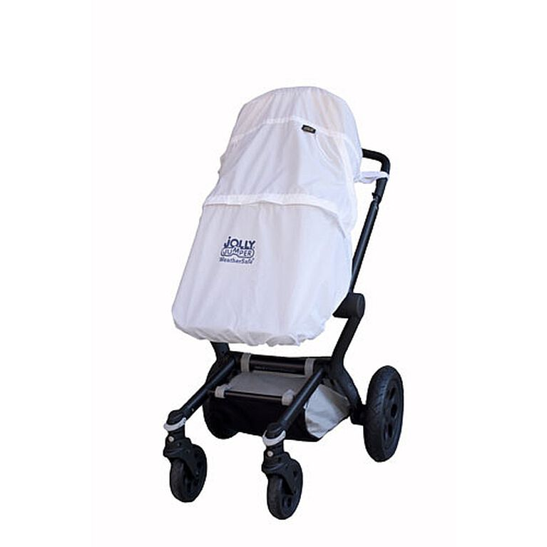 Jolly Jumper Weather Safe Stroller Cover - White