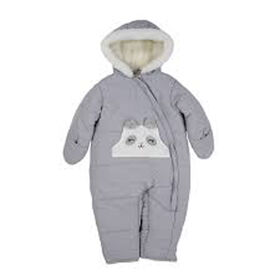 Poussette pour bébé panda gris, 12m Carter's.