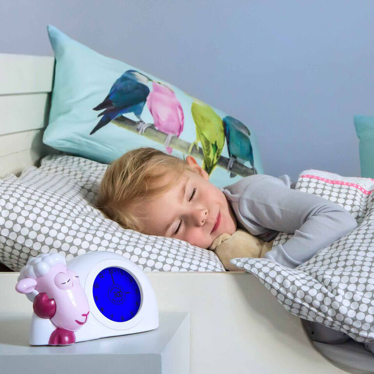 Zazu Sam Sleeptrainer & Nightlight - Pink