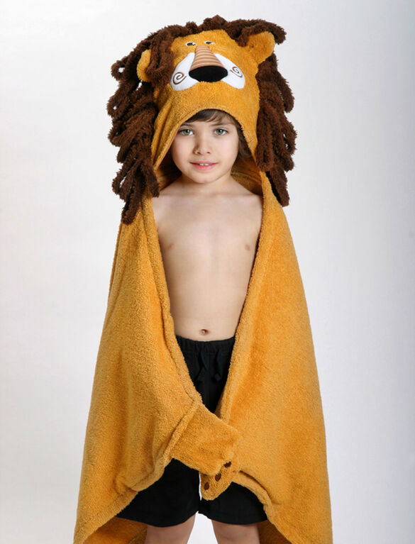 Zoocchini Toddler Towel - Leo the Lion