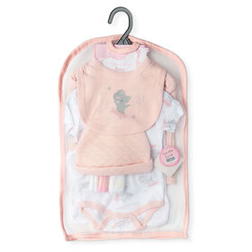 Rock a Bye Baby - Ballerine Mouse 9 Pc Quilted Set - 0-3 Months