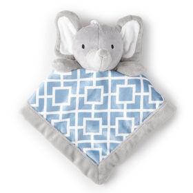 Doudou Levtex Baby - Éléphant gris