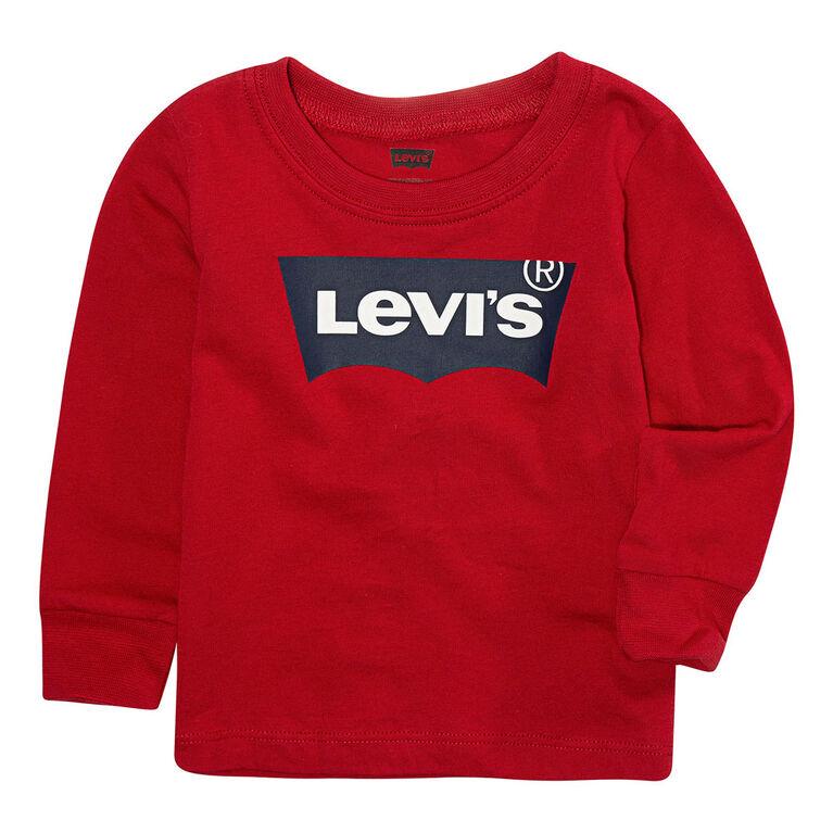 Levis Haut Batwing - Rouge, 6 Mois