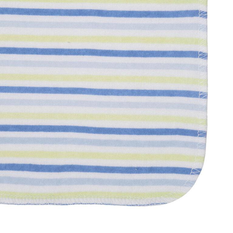 Koala Baby 8-Pack Washcloth, Blue Fish