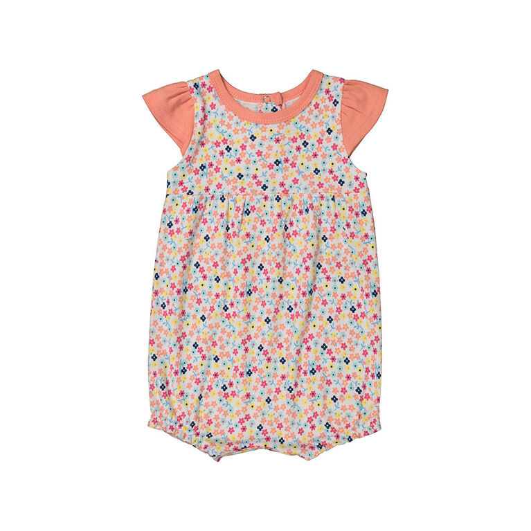 Snugabye Girls - Bubble Romper - Aop Multi Dots 9-12 Months