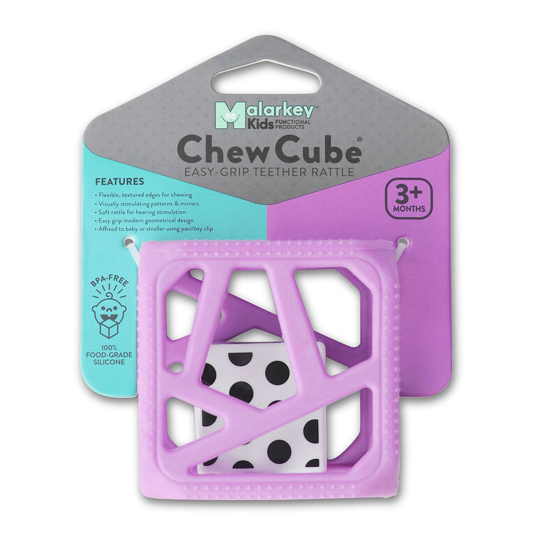 Malarkey Kids - Chew Cube - Purple