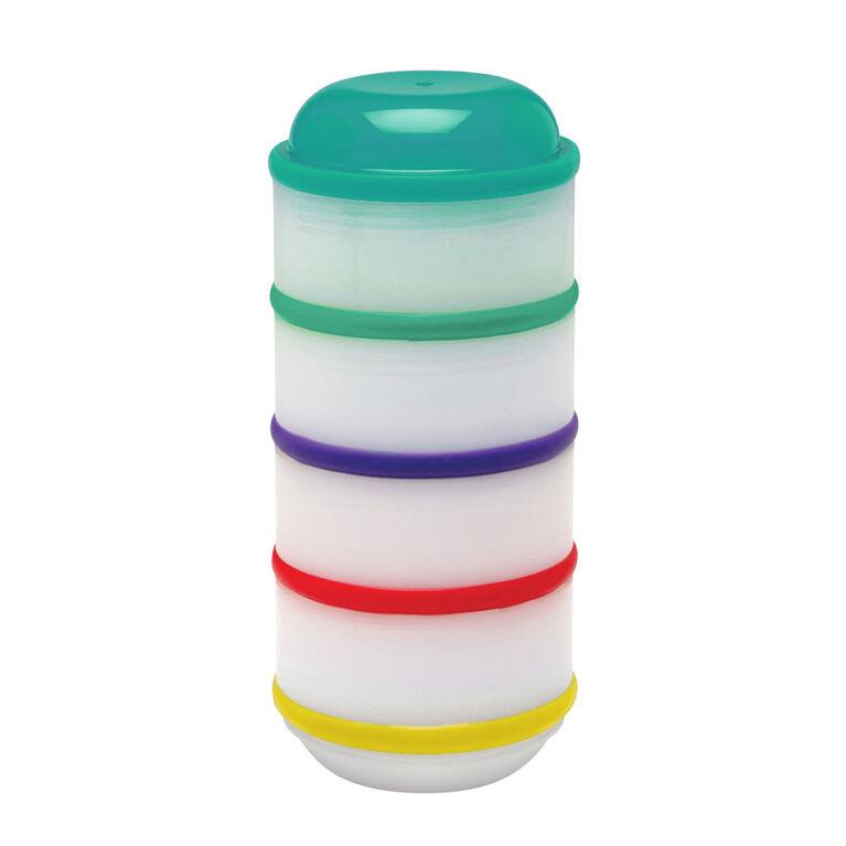 Dr. Brown's Snack-A-Pillar Gobelets Empilables Pour Les Collations Et Les Trempettes