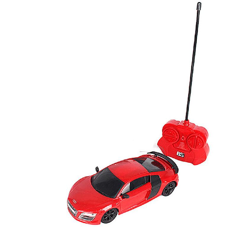 1:24 Audi R8 GT Remote Control Car Red