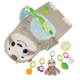 Fisher-Price Ready to Hang Sensory Sloth Gym