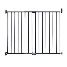 Barriere extensible en metal de Bily - bronze.