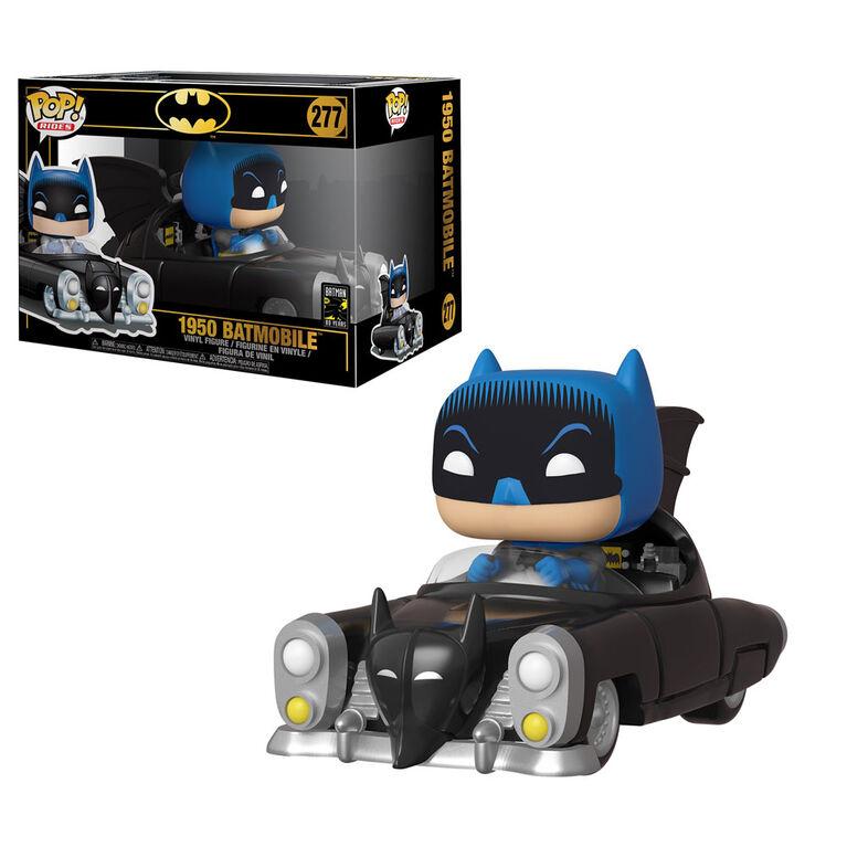 Figurine en vinyle 1950 Batmobile de Batman 80th par Funko POP!.