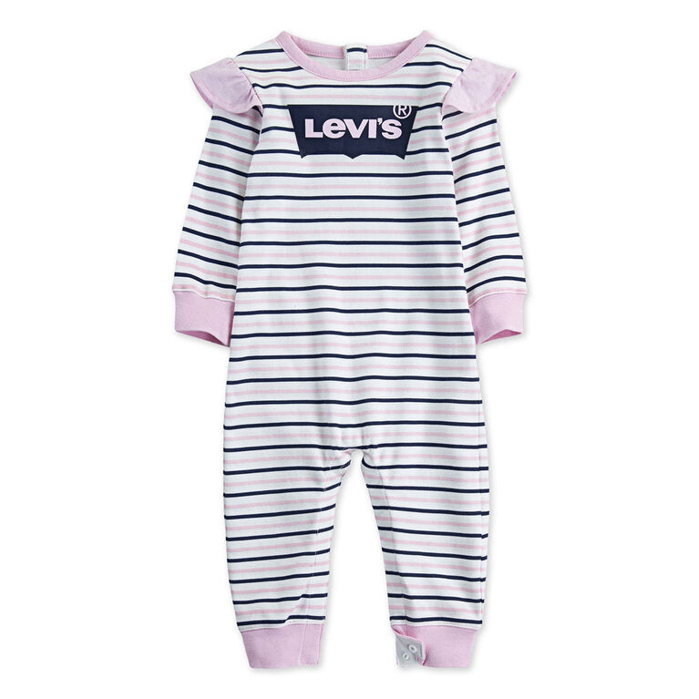 Levis Coverall - Pink, 3 Months