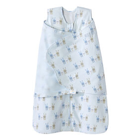 HALO SleepSack Swaddle - Coton - Blue Bunnies - Nouveau Nee.