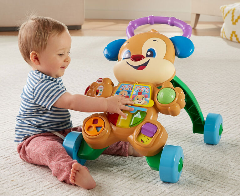 Laugh & Learn Smart Stages Learn with Puppy Walker - French Edition