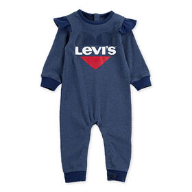 Levis Coverall - Blue, 6 Months