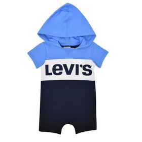 Levis Romper - Blue, 3 Months
